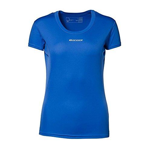 ID Damen Active T-Shirt, kurzärmlig Rot