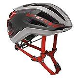 Scott Centric Plus Fahrrad Helm grau/rot 2019: Größe: M (55-59cm)