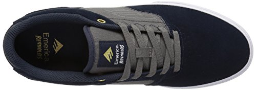 Emerica The Reynolds Low Vulc Navy Grey, Chaussures de Skateboard Homme Navy/grey