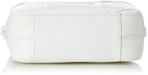 Borsa A Tracolla Donna Laurèl, 7x16x20 Cm Bianco (bianco)