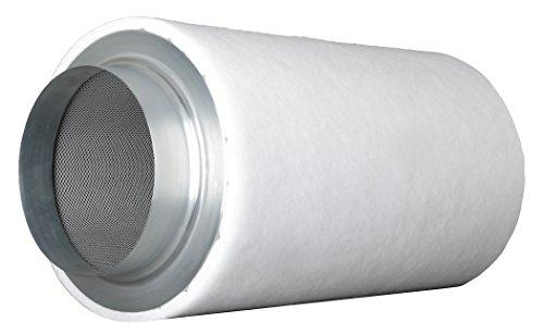 Prima Klima ECO Line (780-m³ - 1000-m³ 200-mm Flansch AKF Aktivkohle-Filter Luft-Filter Geruchsfilter Abluft-Filter Grow Filter für Rohrventilatoren vers. Größen inkl. Cultivalley Anzucht-Dünger