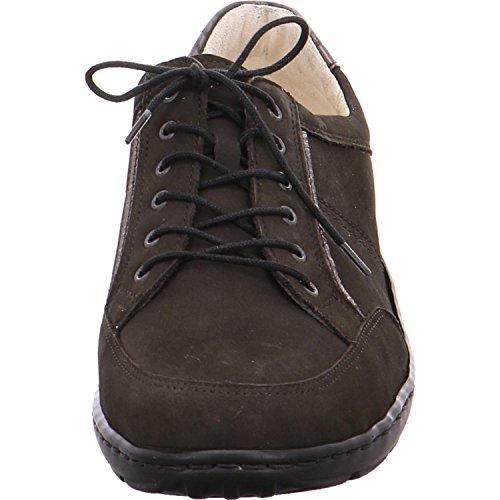 Waldläufer 496013-201-014 Henni, Scarpe stringate donna Marrone