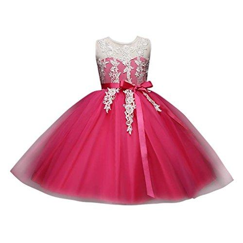 Solike Maedchen Prinzessin Kleid Blumenmaedchen Taft und Spitze Kleid Kinder Maedchen Kleid festlich...