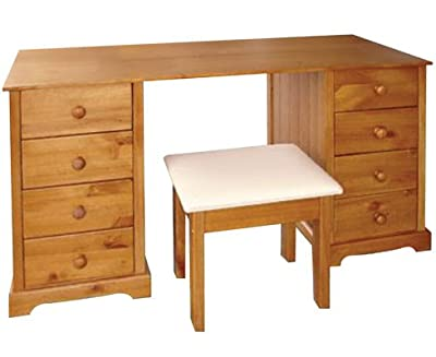 Baltic Dressing Table and Stool - low-cost UK light store.