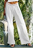 Leinenhose Classic (weiss, S/M)