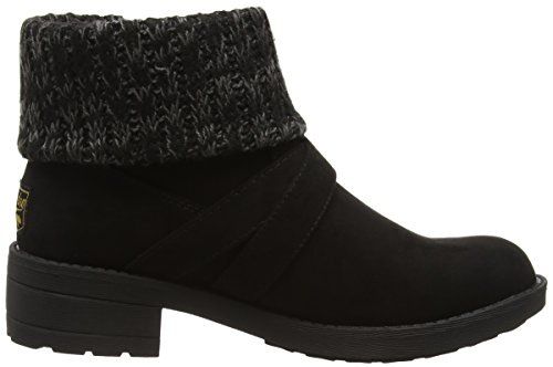 Rocket Dog Damen Tobie Kurzschaft Stiefel Black (Coast/Charlie Black)
