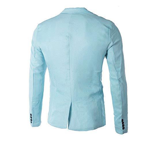 Obestseller Herren Blazer Charm Herren Casual Slim Fit One Button Anzug Blazer Mantel Jacke Tops Herren Mode Hochwertige Materialien Mantel -