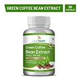 Leanhealth 100% Natural Pure Green Coffee Bean Extract Pure (50% Cga) 800 Mg