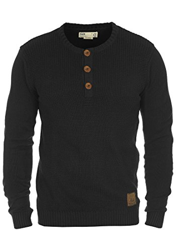solid-terrance-mens-knitted-pullover-sizelcolourblack-9000