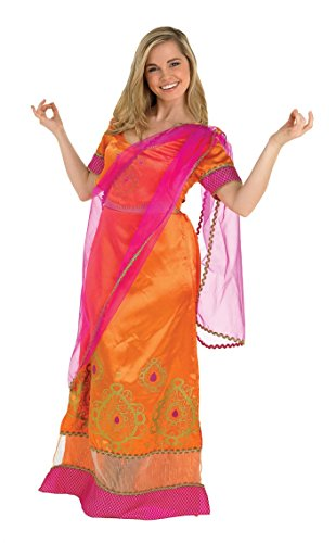 Rubbies - Disfraz de bollywood adultos, talla UK 8-10 (889514S)