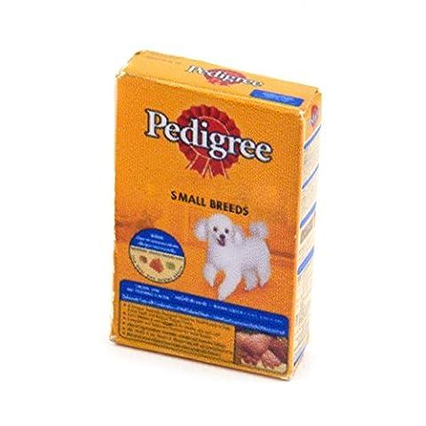 2 x MyTinyWorld Dolls house Miniature Box of Pedigree Pet Foods