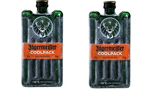 2 x Jägermeister Coolpack PET a 350ml 35% Vol. Kräuterlikör