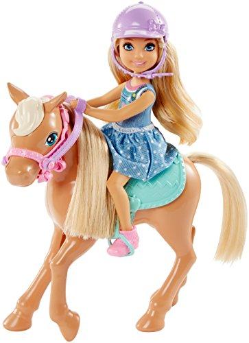 Mattel Barbie DYL42 - Chelsea und Pony -