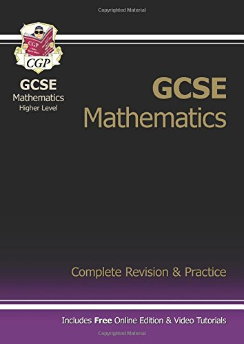 GCSE Maths Complete Revision & Practice with Online Edition - Higher (A*-G Resits) Cover Image