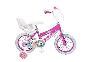 Toimsa - 643 - Vélo pour Enfant - Disney Princesses - Fille - 4 à 7 ans