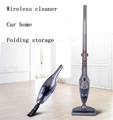 Staubsauger, 2 in 1 Akku-Staubsauger, leichter Stick und Handheld-Vakuum, High-Power wiederaufladbare Bagless Vacuum mit aufrechten Ladestation (Vakuum Aufrecht)