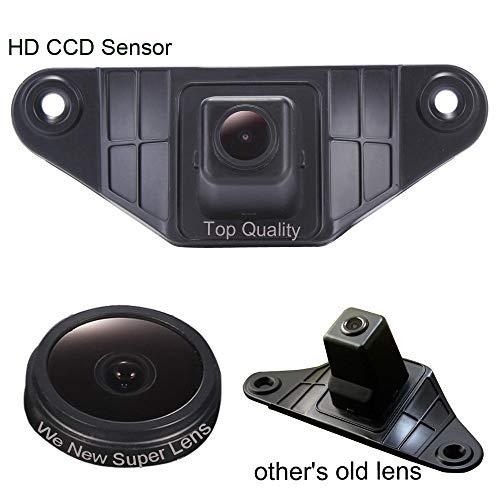 Auto 1280 * 720 Pixel 1000TV Linien Sternenlicht Super Pro HD Rückfahrkamera verbesserte Einparkhilfe mit 8IR Nachtsicht Wasserdicht für Toyota Land Cruiser/Prado 150/Camry/New Reiz/Corolla 2010 (2010 Nummernschild Corolla)