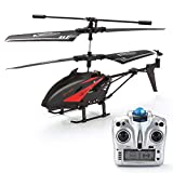RC Helicopter, Remote Control Helicopter with Gyro and LED Light 3.5-Channel Mini Helicopter