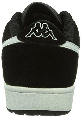 Kappa TROOPER DELUXE Footwear men, Herren Sneakers Schwarz (1110 black/white)