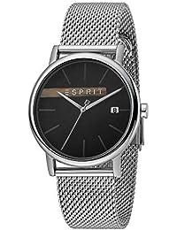 Esprit ES1G047M0055 Timber Black Silver Mesh Montre pour Homme