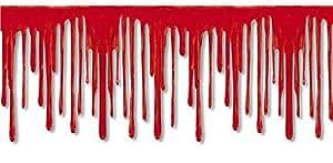 Blut Bordüre Folie