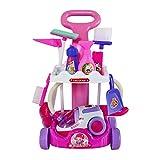 Kinder mini pretend play spielzeug baby simulierte reinigungswerkzeug modell kinder elektrische staubsauger spielzeug pädagogisches spielzeug