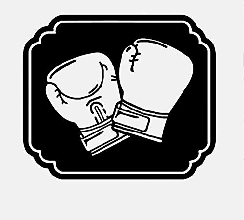 Wandaufkleber Coolste Boxhandschuhe Gym Boys Kinderzimmer Dekor PVC Wandaufkleber 49.7Cm * 58Cm