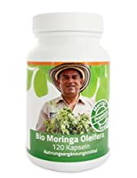 """Bio Moringa Kapseln Premium aus dem MoringaGarden, 120 Kaps. - Echter und ehrlicher Bio Anbau anstatt """"Bio-Marketing"""""""