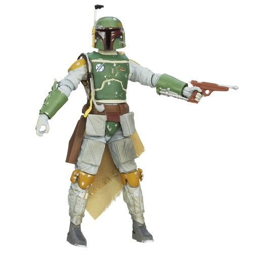 7 Boba Wars Star Fett (Star Wars - Hasbro Action Figure: 6 Inch / Black Series #06 [Boba)
