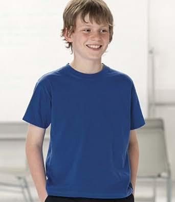 Jerzees Schoolgear Kids Lightweight T-Shirt SIZE 9 to 10 COLOUR Apple Green
