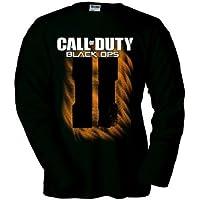 Camiseta Call of Duty Black Ops 2 Simbolo II manga larga (Talla: TallaXS Unisex Ancho/Largo [49cm/62cm] Aprox]) - Cosmética y perfumes - Comparador de precios
