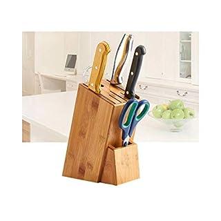 Cygne 2013, s.l. Bloc de Bois pour Couteaux et ustensiles de Cuisine Organisateur. Bloc Porte Couteaux de Cuisine. Dimensions 16x 22cm.