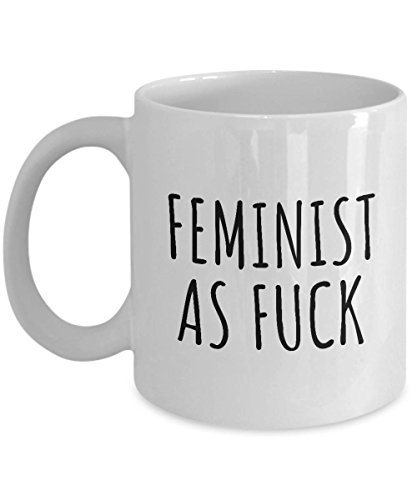 Taza de café feminista para mujer