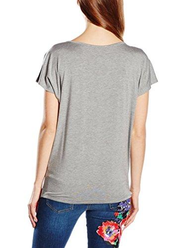 Love Moschino W 4 G41 23 E 1564 T-Shirt Maniche Corte Donna GRIGIO B966