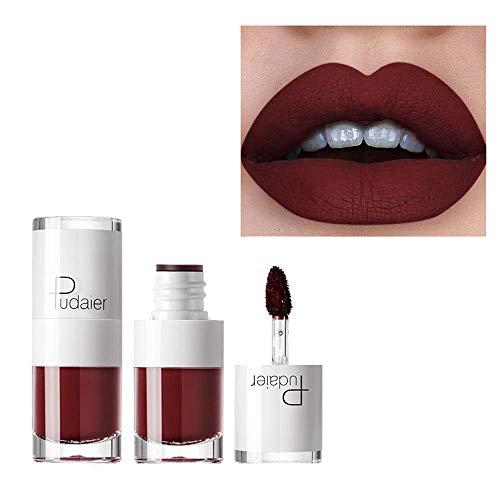 Rouge À Lèvres Cosmétique Nouveau Longue Durée Beauté Maquillage 1PC Lipstick Étanche Durable Mat Matte Liquide Brillant Cosmétiques (E519)