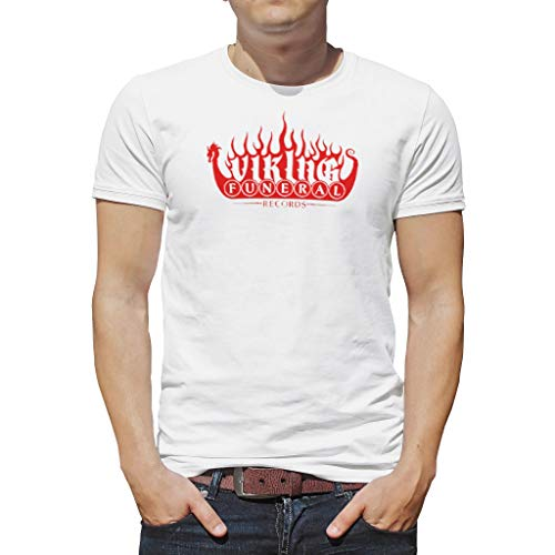 O3XEQ-8 Männer T-Shirts Jugendliche TopSommer - Viking Muster Boyfriend-Style Hemd