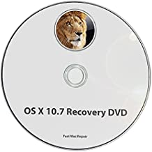 J4co1 - Mac OS X 10.7 Lion Full OS Install - Reinstall / Recovery Upgrade Downgrade / Repair Utility Factory Reset DVD