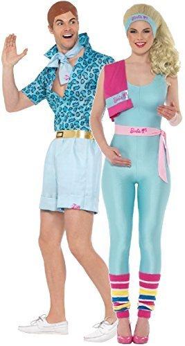 n und Damen Ken und Barbie-Puppe Retro-Spielzeug Traumhaus Lustig Komödie Kostüm Kleid Outfit - UK 12-14 - Men Large (Barbie Outfits Für Erwachsene)