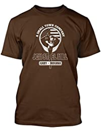 Bathroom Wall John Mellencamp inspired Minutes to Memories Camiseta, Hombres