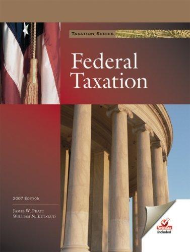 federal-taxation-with-turbotax-basic-turbotax-business-by-james-w-pratt-2006-04-15