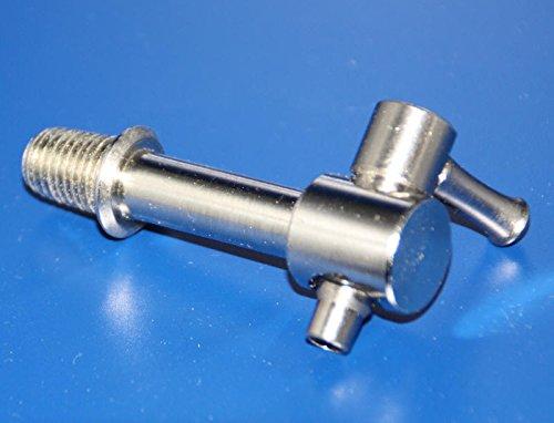 IBC Kleiner Metallhahn mit Ø 12 mm Schlauchtülle