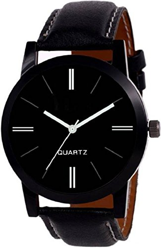 Montres Analogue Black Dial Men\'s & Boy\'s Watch - Cenjer05
