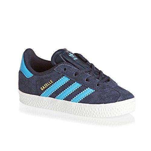 Adidas Gazelle 2 Cf I Scarpe Sportive, Unisex Bambino azul marino