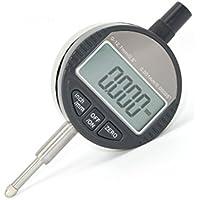 UEETEK Digitale Messuhr Digitale Messsonde Messuhr Messbereich 0-12,7mm Messuhr-Anzeige Elektronische Anzeigeanzeige