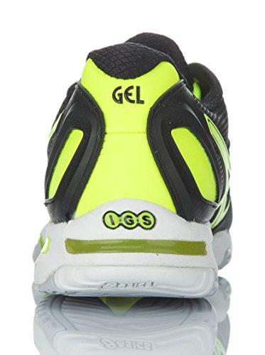 Asics Gel-solution Speed Chaussures de course à pied pour homme (E200N) Black / Flash Yellow / Lightning