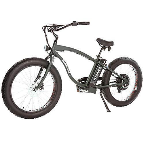 Tucano Monster 26 Naked Verde. Bicicleta eléctrica
