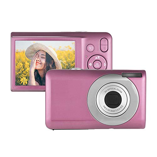 Feiledi Trade V100 Objectif Zoom Optique 8X télescopique 16 Millions de HD Ultra-Mince caméra Appareil Photo numérique pour Enfants