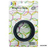 Yey-Mart Magnetic Tape or Magnetic Strip Self Adhesive (2cm x 1m) Ideal for Making Fridge Magnets and Other Promotional Gifts