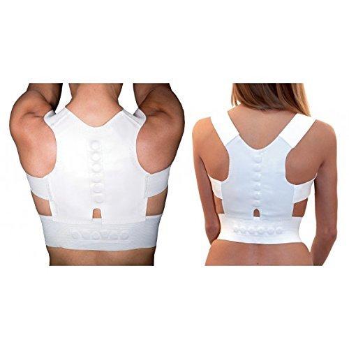Magnetische Rückenbandage zur Haltungsverbesserung, Bereich Schultern und Rücken, unisex