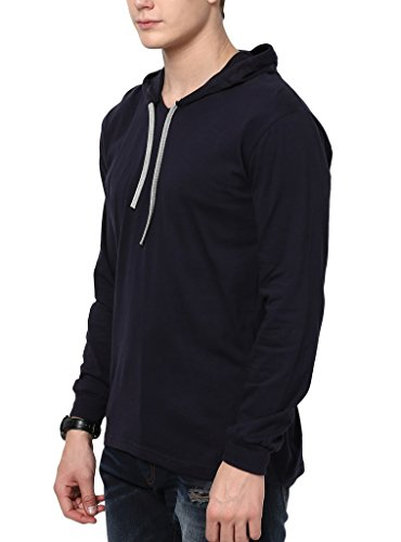Katso Men's Cotton Hooded T-Shirt